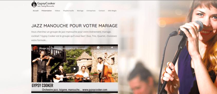 Groupe jazz manouche pour mariage - GypsyCooker